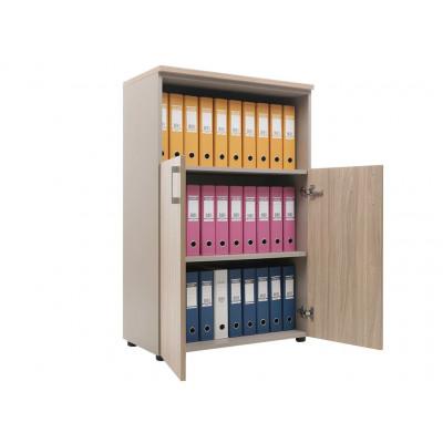 Шкаф NW 1280/2 полузакрытый вяз натуральный / бежевый